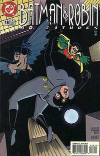 Cover Thumbnail for The Batman and Robin Adventures (DC, 1995 series) #16 [Direct Sales]