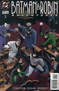 Cover Thumbnail for The Batman and Robin Adventures (DC, 1995 series) #17 [Direct Sales]