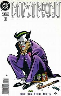 Cover Thumbnail for The Batman and Robin Adventures (DC, 1995 series) #18 [Direct Sales]