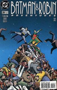 Cover Thumbnail for The Batman and Robin Adventures (DC, 1995 series) #20 [Direct Sales]