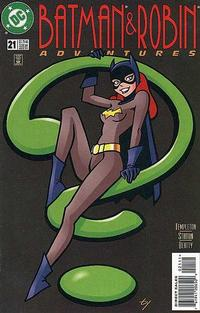 Cover Thumbnail for The Batman and Robin Adventures (DC, 1995 series) #21 [Direct Sales]