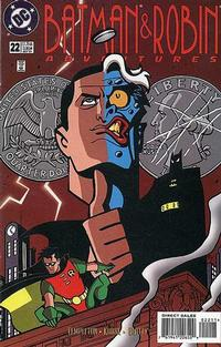 Cover Thumbnail for The Batman and Robin Adventures (DC, 1995 series) #22 [Direct Sales]