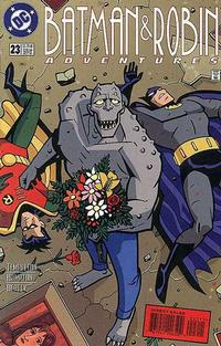 Cover Thumbnail for The Batman and Robin Adventures (DC, 1995 series) #23 [Direct Sales]
