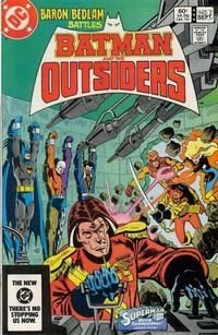 Cover Thumbnail for Batman and the Outsiders (DC, 1983 series) #2 [Direct Edition]