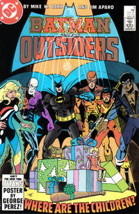 Cover Thumbnail for Batman and the Outsiders (DC, 1983 series) #8 [Direct]