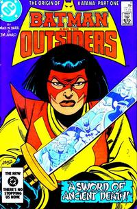 Cover Thumbnail for Batman and the Outsiders (DC, 1983 series) #11 [Direct]