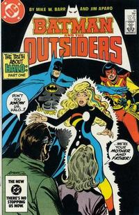 Cover Thumbnail for Batman and the Outsiders (DC, 1983 series) #16 [Direct]