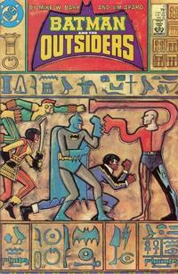 Cover Thumbnail for Batman and the Outsiders (DC, 1983 series) #17 [Direct]