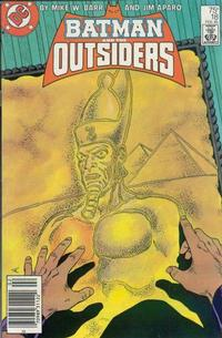 Cover for Batman and the Outsiders (DC, 1983 series) #18 [Direct Sales]
