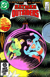 Cover Thumbnail for Batman and the Outsiders (DC, 1983 series) #19 [Direct Edition]