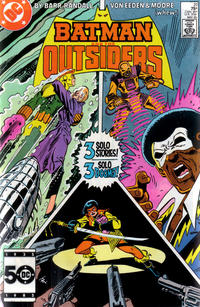 Cover Thumbnail for Batman and the Outsiders (DC, 1983 series) #21 [Direct]