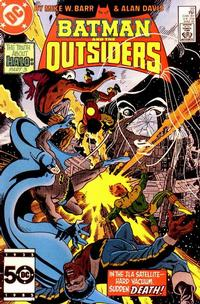 Cover Thumbnail for Batman and the Outsiders (DC, 1983 series) #22 [Direct]