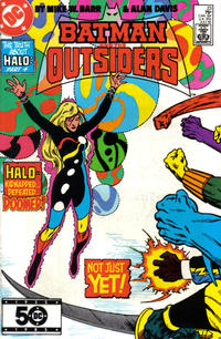 Cover Thumbnail for Batman and the Outsiders (DC, 1983 series) #23 [Direct]