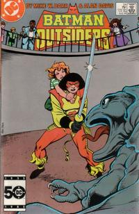 Cover Thumbnail for Batman and the Outsiders (DC, 1983 series) #24 [Direct]