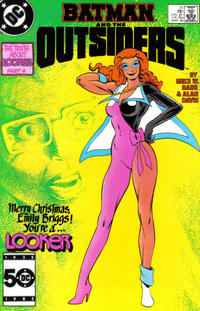 Cover Thumbnail for Batman and the Outsiders (DC, 1983 series) #31 [Direct Sales]