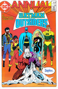 Cover Thumbnail for Batman and the Outsiders Annual (DC, 1984 series) #2 [Direct Sales]
