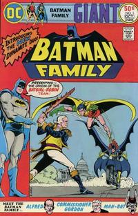 Cover Thumbnail for Batman Family (DC, 1975 series) #1