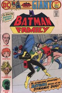 Cover for Batman Family (DC, 1975 series) #2