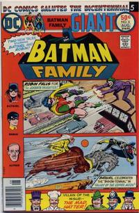 Cover Thumbnail for The Batman Family (DC, 1975 series) #6