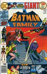Cover Thumbnail for Batman Family (DC, 1975 series) #7