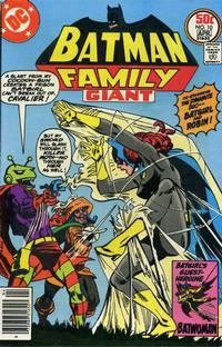 Cover Thumbnail for The Batman Family (DC, 1975 series) #10