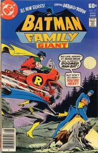 Cover Thumbnail for Batman Family (DC, 1975 series) #12