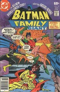 Cover Thumbnail for Batman Family (DC, 1975 series) #14