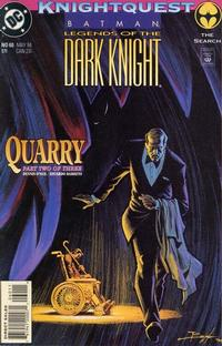 Cover Thumbnail for Batman: Legends of the Dark Knight (DC, 1992 series) #60