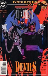 Cover Thumbnail for Batman: Legends of the Dark Knight (DC, 1992 series) #62 [Direct Edition]