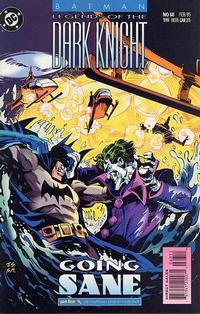 Cover Thumbnail for Batman: Legends of the Dark Knight (DC, 1992 series) #68