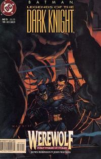 Cover Thumbnail for Batman: Legends of the Dark Knight (DC, 1992 series) #73