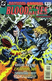 Cover Thumbnail for Batman: Legends of the Dark Knight Annual (DC, 1993 series) #3 [Direct Sales]