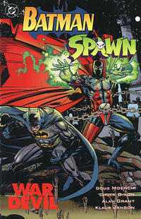 Cover Thumbnail for Batman-Spawn: War Devil (DC, 1994 series)  [Direct Sales]