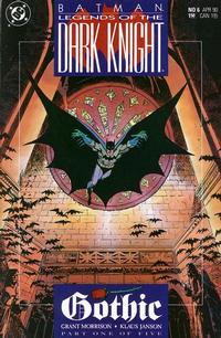 Cover Thumbnail for Legends of the Dark Knight (DC, 1989 series) #6