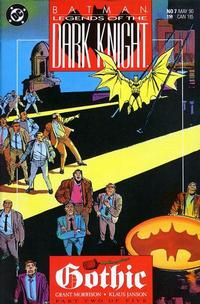 Cover Thumbnail for Legends of the Dark Knight (DC, 1989 series) #7