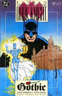 Cover Thumbnail for Legends of the Dark Knight (DC, 1989 series) #8