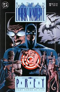 Cover Thumbnail for Legends of the Dark Knight (DC, 1989 series) #13