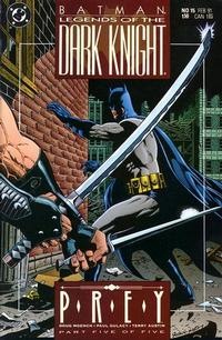 Cover Thumbnail for Legends of the Dark Knight (DC, 1989 series) #15