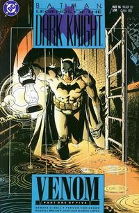 Cover Thumbnail for Legends of the Dark Knight (DC, 1989 series) #16