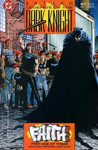 Cover Thumbnail for Legends of the Dark Knight (DC, 1989 series) #21