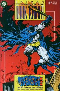Cover Thumbnail for Legends of the Dark Knight (DC, 1989 series) #23