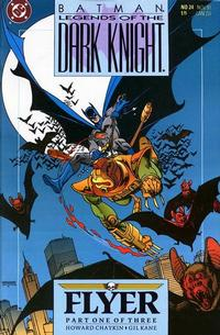 Cover Thumbnail for Legends of the Dark Knight (DC, 1989 series) #24