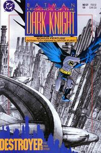 Cover Thumbnail for Legends of the Dark Knight (DC, 1989 series) #27