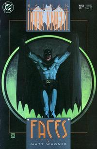 Cover Thumbnail for Legends of the Dark Knight (DC, 1989 series) #29