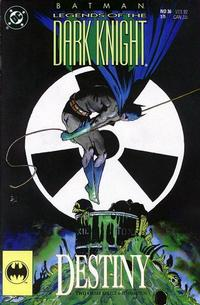 Cover Thumbnail for Legends of the Dark Knight (DC, 1989 series) #36