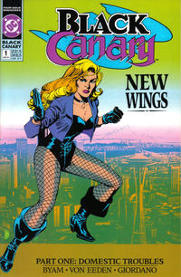 Cover Thumbnail for Black Canary (DC, 1991 series) #1