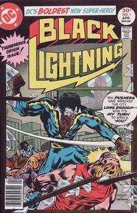 Cover Thumbnail for Black Lightning (DC, 1977 series) #1