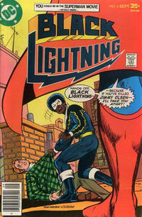 Cover Thumbnail for Black Lightning (DC, 1977 series) #4
