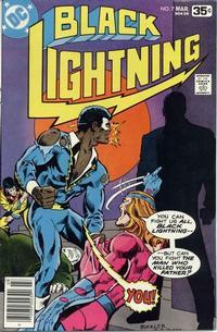 Cover Thumbnail for Black Lightning (DC, 1977 series) #7