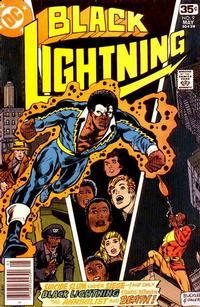 Cover Thumbnail for Black Lightning (DC, 1977 series) #9
